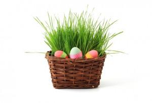 Ostern, glutenfreie Lebensmittel. Osterhasen, Osterbrot