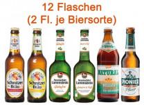 Glutenfreies Bier Mischpaket 6 x 2 Flaschen
