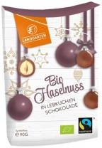 Bio Haselnuss in Lebkuchenschokolade