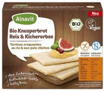 Bio Knusperbrot Reis & Kichererbse