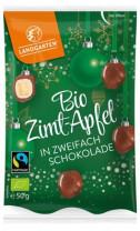 Bio Zimt-Apfel in zweifach Schokolade