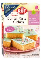 Bunter Party Kuchen