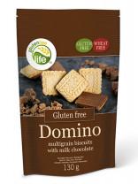 Domino - Vollkornkekse mit Milchschokolade