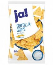 Tortilla Chips mit Salz