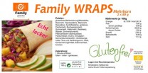 Glutenfreie Wraps