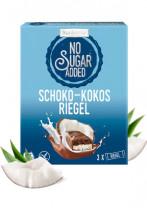 No Sugar Added Schoko-Kokosriegel
