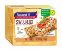 Glutenfreies Knäckebrot Savoureux mit Kastanie