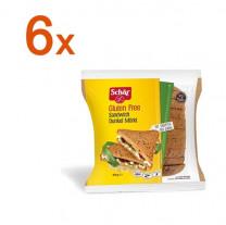 Sparpaket 6 x Sandwich Dunkel