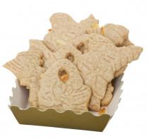 Butterspekulatius mit Mandeln, frisch gebacken