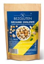 Glutenfreie Croutons mit Kräutern