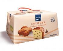 Colomba Kuchen mit Schokoladentropfen