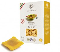 Glutenfreie Raviolini mit Ricotta, Kartoffeln & Huhn