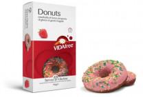 Glutenfreie Donuts Erdbeere