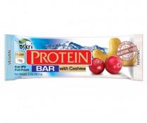 Protein Riegel mit Cashew & Zartbitterschokolade