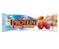 Protein Riegel mit Mandel & Zartbitterschokolade