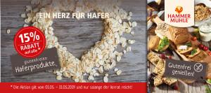 Hammermühle Aktion - Bei Glutenunverträglichkeit hier einkaufen!