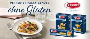 Barilla glutenfreie Nudeln Banner - Bei Glutenunverträglichkeit hier einkaufen!