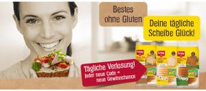 Schär Gewinnspiel - Bei Glutenunverträglichkeit hier einkaufen!