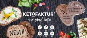 Ketofaktur - Glutenfreies Brot & Backmischung - Bei Glutenunverträglichkeit hier einkaufen!