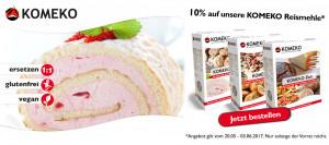 Komeko Aktion - Bei Glutenunverträglichkeit hier einkaufen!