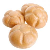 Knopf-Brötchen 4 Stück frisch gebacken - glutenfrei
