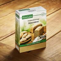 Fertigmehlmischung Bauernbrot - glutenfrei