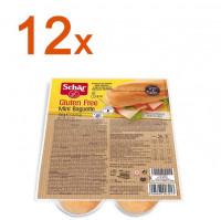 Sparpaket 12 x Mini Baguette Duo - glutenfrei