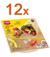 Sparpaket 12 x Wraps - glutenfrei