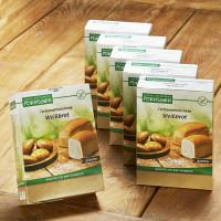 Sparpaket 6 x Fertigmehlmischung Weißbrot - glutenfrei