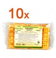 Sparpaket 10 x Softwaffeln - glutenfrei