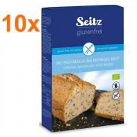 Sparpaket 10 x BIO-Backmischung für kerniges Brot - glutenfrei