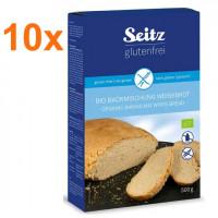Sparpaket 10 x BIO-Backmischung für Weißbrot - glutenfrei