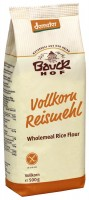 Vollkorn Reismehl - glutenfrei