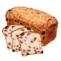 Rosinenbrot, frisch gebacken - glutenfrei