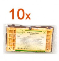 Sparpaket 10 x Schokowaffeln - glutenfrei