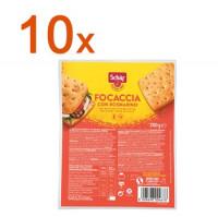 Sparpaket 10 x Focaccia Rosmarin - glutenfrei