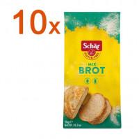Sparpaket 10 x Mix B Brot - glutenfrei