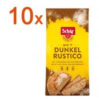 Sparpaket 10 x Mix it Dunkel Rustico - glutenfrei