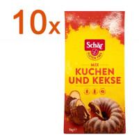 Sparpaket 10 x Mix C Kuchen & Kekse - glutenfrei