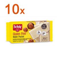 Sparpaket 10 x Wafer pocket - glutenfrei