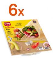 Sparpaket 6 x Wraps - glutenfrei