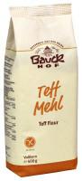 Teffmehl - glutenfrei