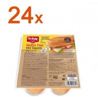 Sparpaket 24 x Mini Baguette Duo - glutenfrei