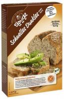 Schnelles Dunkles Brot - glutenfrei