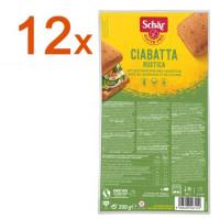 Sparpaket 12 x Ciabatta Rustica - glutenfrei