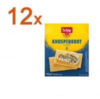 Sparpaket 12 x Fette Croccanti Knusperbrot - glutenfrei
