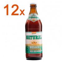 Natural Helles glutenfreies Bio Bier 12 Fl. - glutenfrei