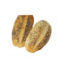 Mohnbrötchen 2 Stück frisch - glutenfrei