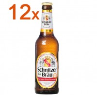 Schnitzer Bräu Bier 12 FL. - glutenfrei