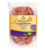 Bio 4 Laugenbrezeln - glutenfrei